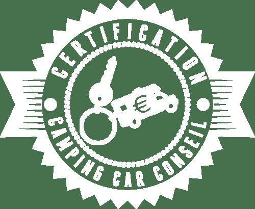 Logo de la certification de camping-car conseil